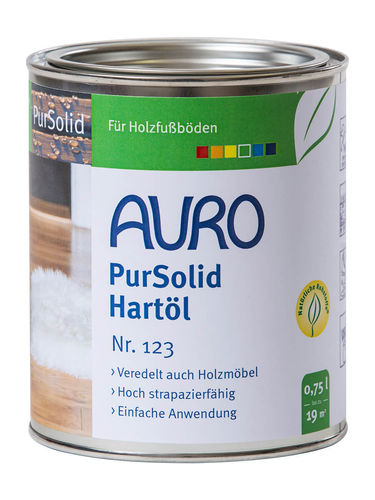 AURO PurSolid Hartöl 123 750 ml