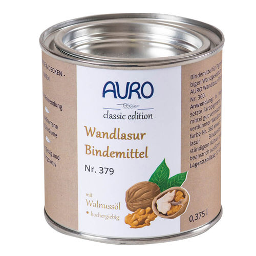 AURO Wandlasur Bindemittel 379 375 ml